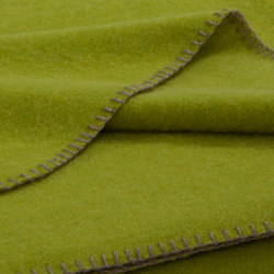 Alina Blanket lime | Plaids / Blankets | Steiner