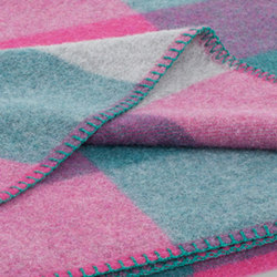 Anna Blanket raspberry | Couvertures | Steiner