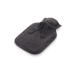 Sophia Hot-water bottle graphite | Cojines | Steiner1888