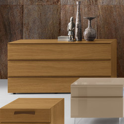Complementi Notte Onyx | Kleiderkommoden | Presotto