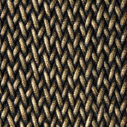 Grit | glow black bronze | Formatteppiche / Designerteppiche | Naturtex