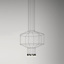 Wireflow 0299 Pendant lamp | Suspended lights | Vibia