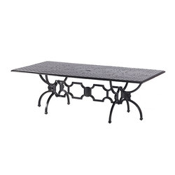 Artemis Rectangular Table | Garten-Esstische | Oxley's Furniture