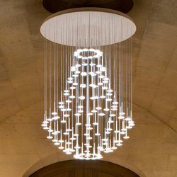 I.RAIN Montgolfiere | Suspended lights | Buschfeld Design