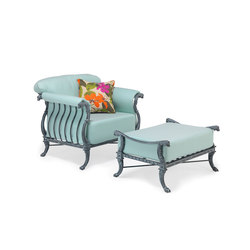 Luxor Lounge Chair & Ottoman | Poltrone da giardino | Oxley's Furniture