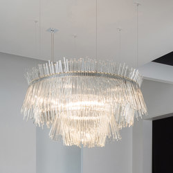 RONDO FANO 2 | Ceiling suspended chandeliers | Buschfeld Design