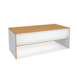 OS-F | W-EI Schreibtisch | Einzeltische | OLIVER CONRAD