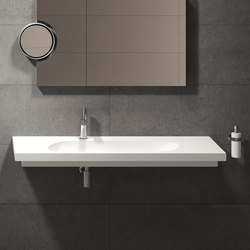CubiKa wall-hung 120 washbasin | Wash basins | Ceramica Cielo