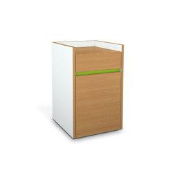 ROS-F | W-EI Container | Pedestals | OLIVER CONRAD