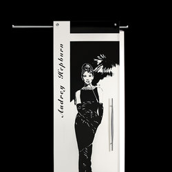 Sliding Door⎟Audrey Hepburn, full body | Internal doors | Casali