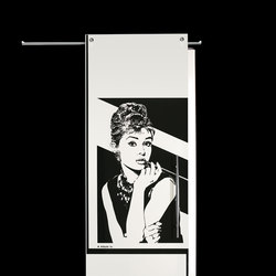 Sliding Door⎟Audrey Hepburn, half body | Internal doors | Casali