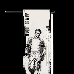 Sliding⎟James Dean, full body | Internal doors | Casali