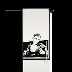 Sliding⎟James Dean, half body | Internal doors | Casali