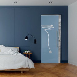 Pocket door⎟Due Punti | Internal doors | Casali