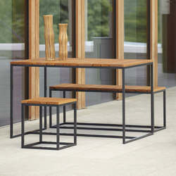Alois seat-group | Tables et bancs de jardin | jankurtz
