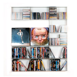 Krossing CDs and DVDs holder | Shelving | Kriptonite