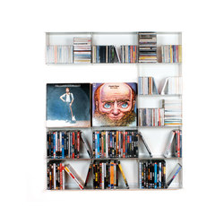 Krossing - Wall system CD rack | CD-Regale | Kriptonite