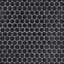 Unicolor - 101 hexagonal | Mosaici in vetro | Hisbalit