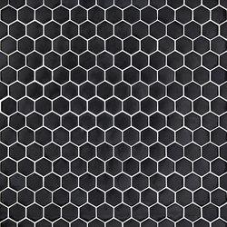 Unicolor - 101 hexagonal | Glass mosaics | Hisbalit