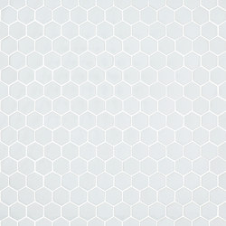 Unicolor - 103 hexagonal | Mosaici in vetro | Hisbalit