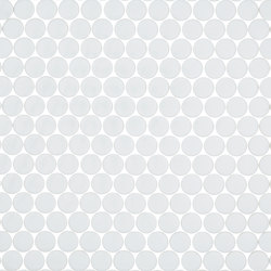 Unicolor - 103 rotondo | Mosaicos de vidrio | Hisbalit