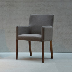 Augus armchair | Visitors chairs / Side chairs | jankurtz