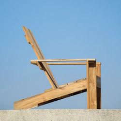 Batten lounge armchair | Sillones de jardín | jankurtz