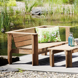 Batten lounge sofa | Garden sofas | jankurtz