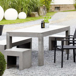 Beton table | Dining tables | jankurtz
