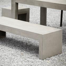 Beton bench | Panche da giardino | jankurtz