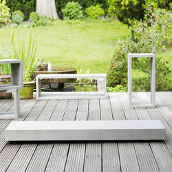 Beton Board coffe table | Tables basses de jardin | jankurtz