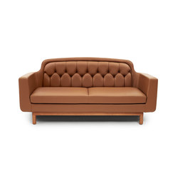 Onkel 2-Seater | Canapés d'attente | Normann Copenhagen