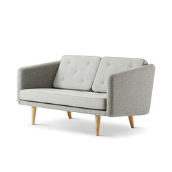 No. 1 Sofa 2 seat | Loungesofas | Fredericia Furniture