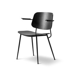 The Søborg Armchair | Visitors chairs / Side chairs | Fredericia Furniture