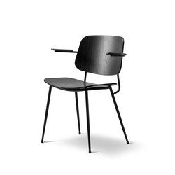 Søborg Steel Base Armchair | Stühle | Fredericia Furniture