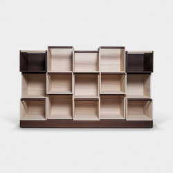 Cubo Dynamic library | Bibliotecas | Trentino Wood & Design