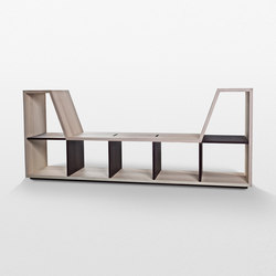 Roomie Library & Seating | Scaffali | Trentino Wood & Design