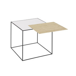 Twin Table white/oak | Side tables | by Lassen