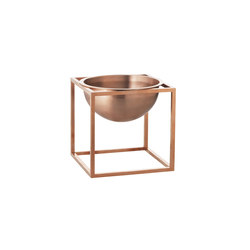 Kubus Bowl Small, copper | Bowls | by Lassen