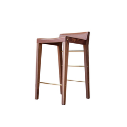 Lincoln Stool | Sgabelli bar | Asher Israelow