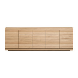 Oak Burger sideboard | Sideboards | Ethnicraft