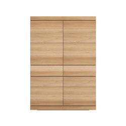 Oak Burger storage cupboard | Armadi | Ethnicraft