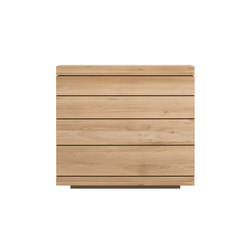 Oak Burger chest of drawers | Sideboards | Ethnicraft