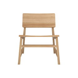 Oak N2 Lounge Chair | Sillones lounge | Ethnicraft