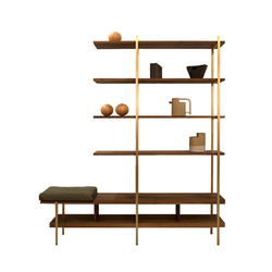 Interval Shelf | Sistemi scaffale ufficio | Asher Israelow