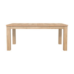 Oak Stretch extendable dining table | Restaurant tables | Ethnicraft