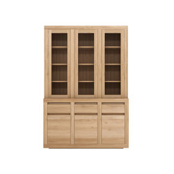 Oak Flat cupboard | Display cabinets | Ethnicraft
