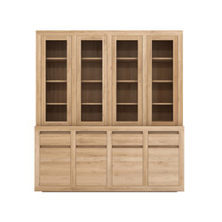 Oak Flat cupboard | Vitrines | Ethnicraft