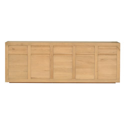 Oak Flat sideboard | Sideboards | Ethnicraft