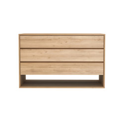 Oak Nordic chest of drawers | Sideboards | Ethnicraft
